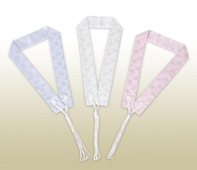 カラー輪袈裟 ブルー・ホワイト・ピンク