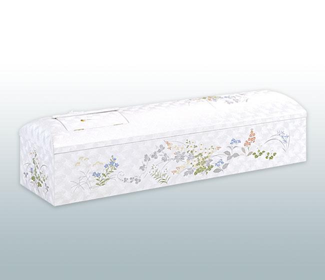 ドーム型刺繍棺 万葉