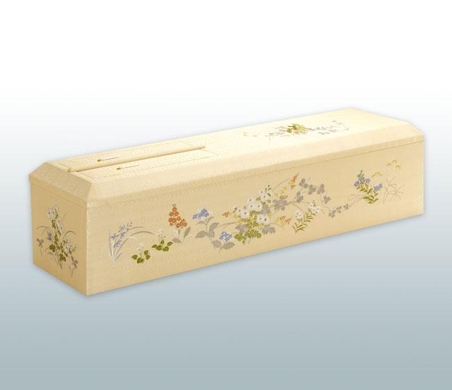 山型刺繍棺 万葉