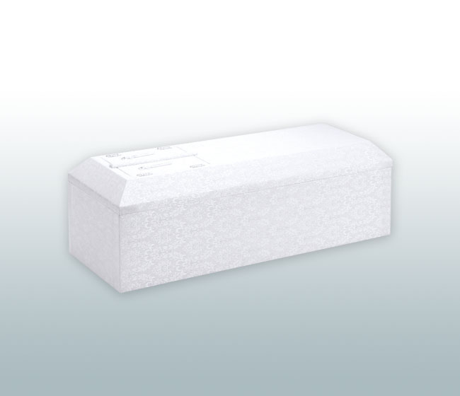 子供棺(ホワイト)