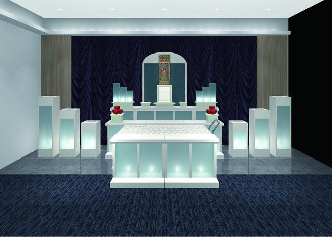 フロステッド祭壇