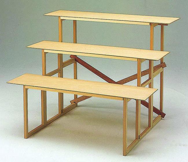 木製後飾祭壇3段セット